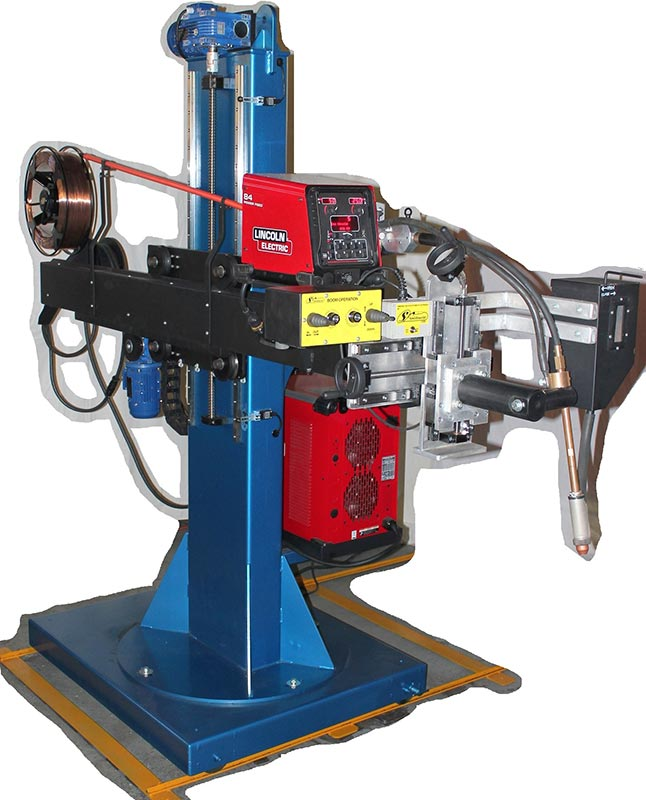 Column and Boom Welding Machinery