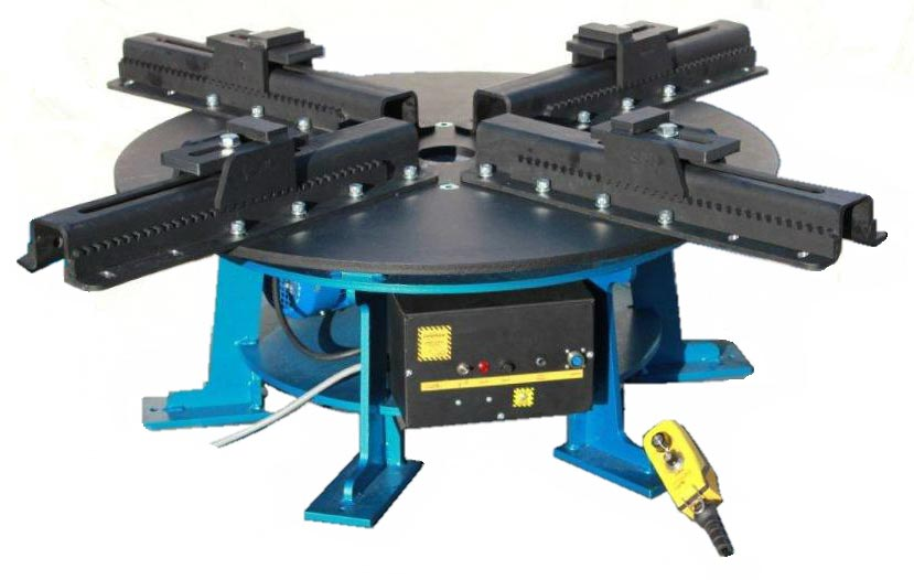 Vertical Pipe Welding Rotator Table