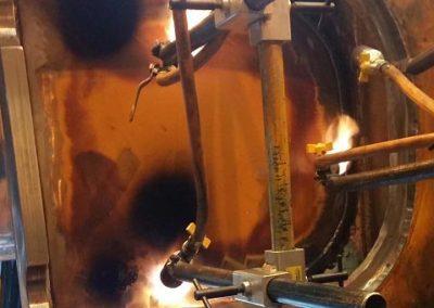 chassis burner