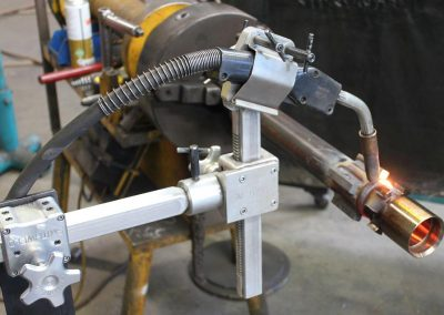 gun-torch support specialised FCAW